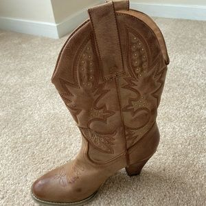 Very Volatile Denver Embroidered Cowboy Boots